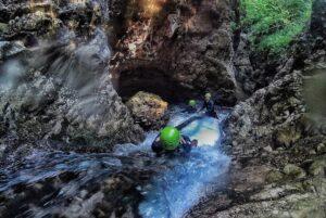 canyoning val di non, sul torrente Novella
