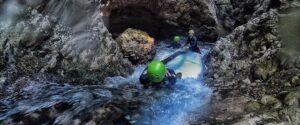 canyoning val di non, torrente novella