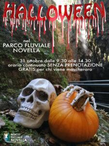 Evento Speciale Halloween nel Parco Fluviale Novella